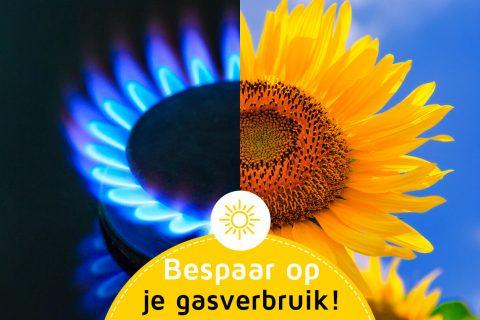 Bespaar op je gasverbruik